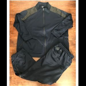 Reebok Size 3XL Navy Blue Jogging Track Suit